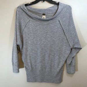 We the Free Off the Shoulder 3/4 Sleeve Thermal XS